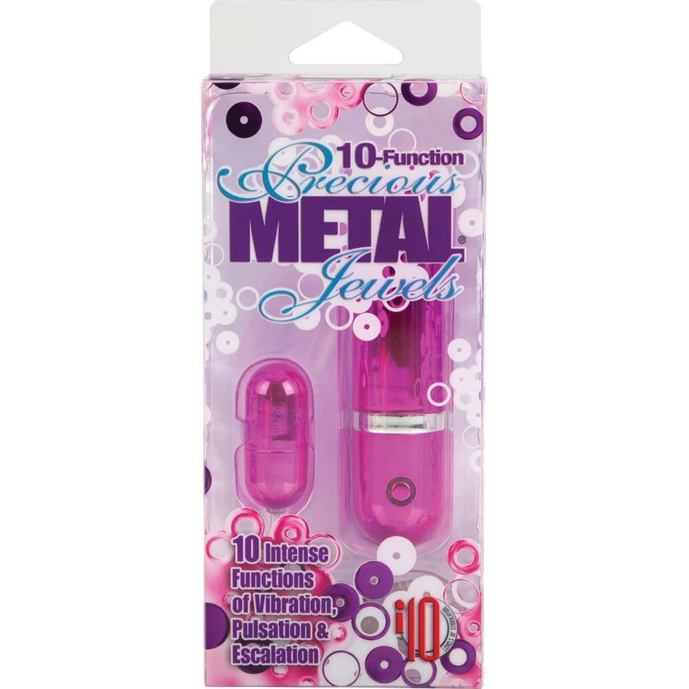 10 Function Precious Metal Jewels Pleasure Paks Vibe Sassy Pink - View #4