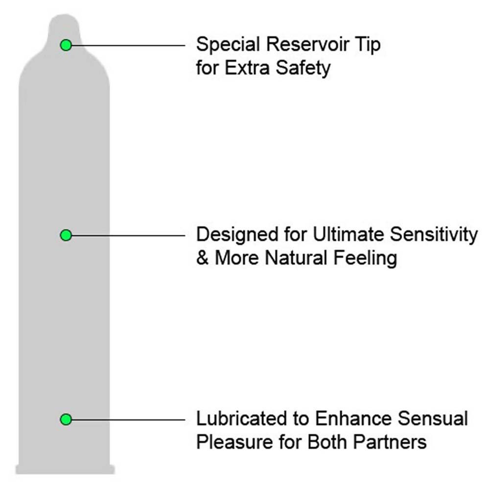Trojan Sensitivity Ultra Thin Lubricated Condoms 12 Pack - View #1
