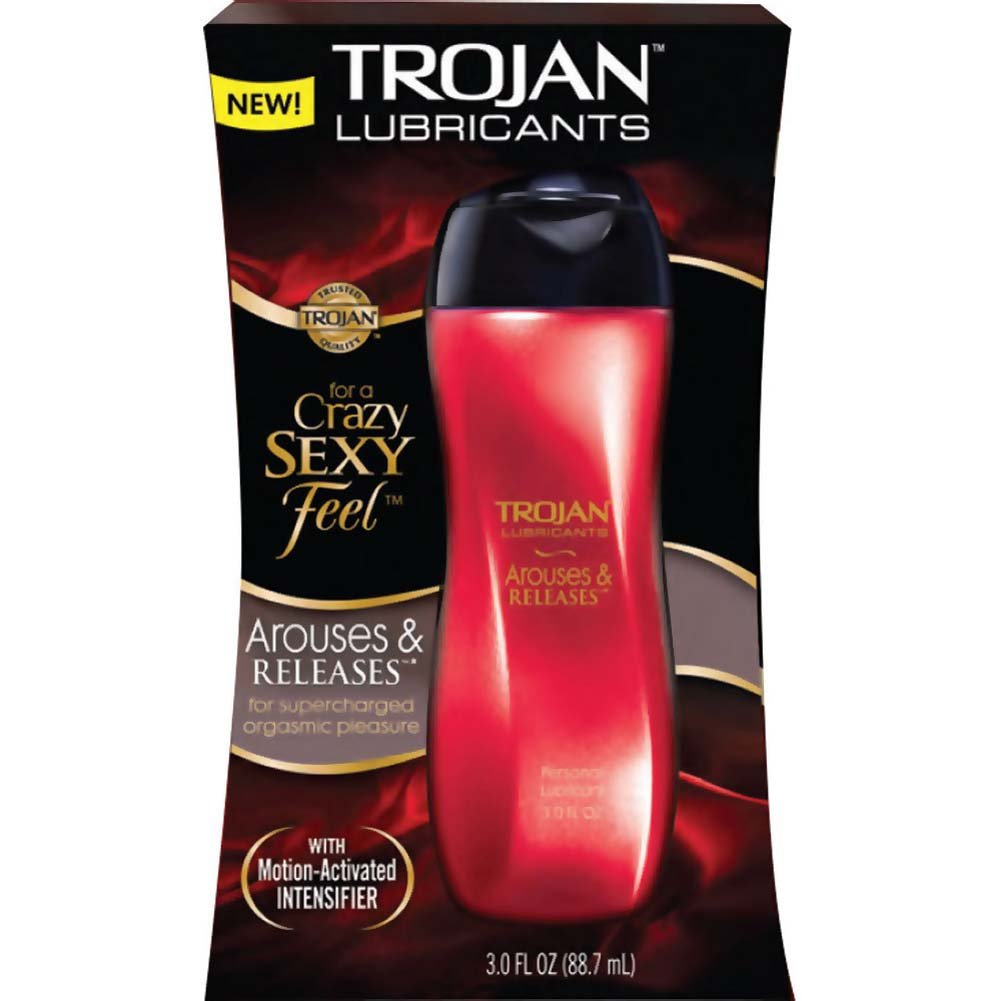 Trojan Lubricants Arouses and Releases Personal Lubricant 3 Fl.Oz 88.7 mL - View #1