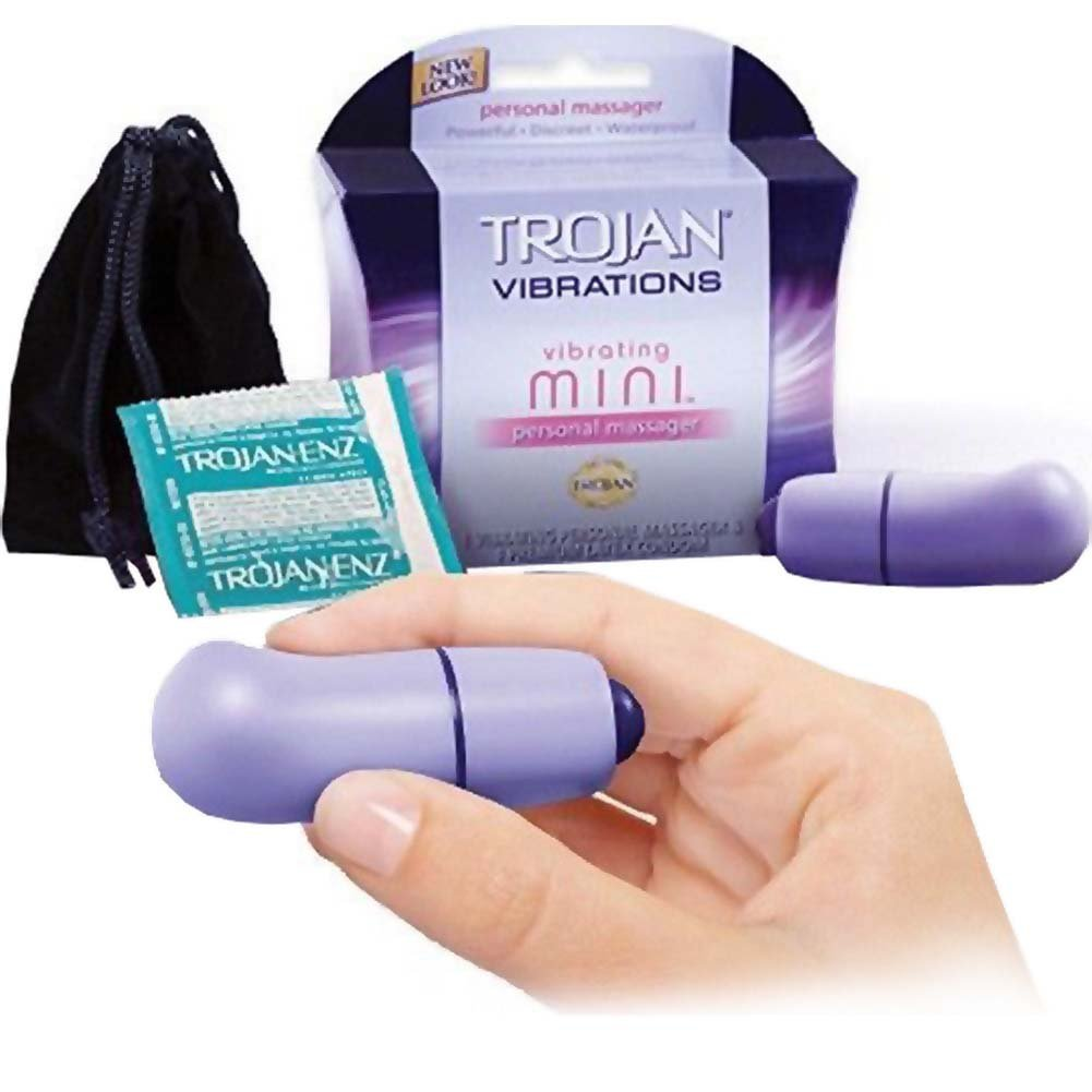 Trojan Her Pleasure Vibrating Mini Personal Massager - View #1