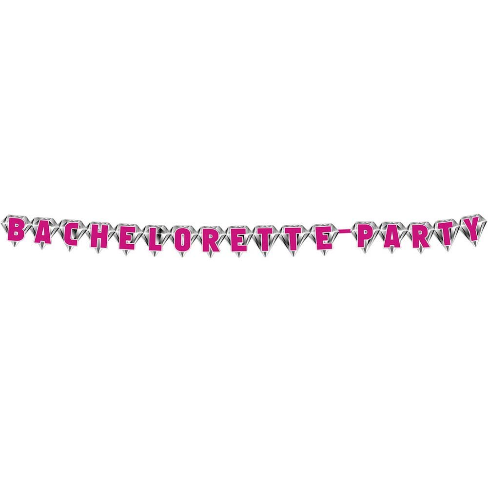 Bachelorette Party Diamond Banner - View #1