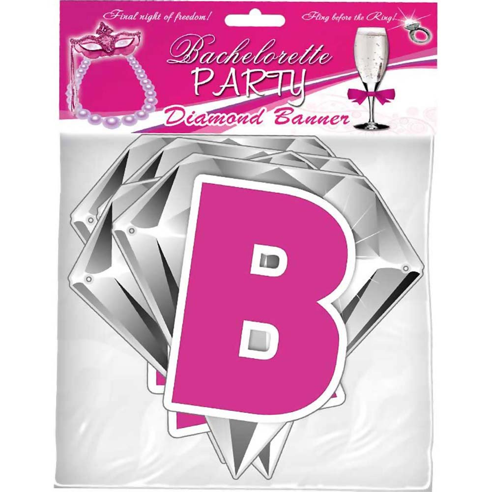 Bachelorette Party Diamond Banner - View #3