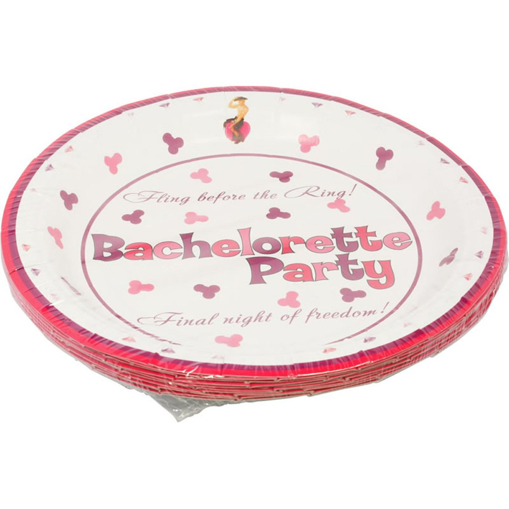 "Bachelorette Party 7"" Plates 10 Pieces - View #1"