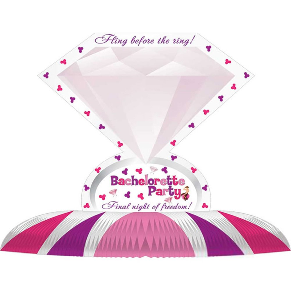Bachelorette Party Diamond Ring Centerpiece - View #2