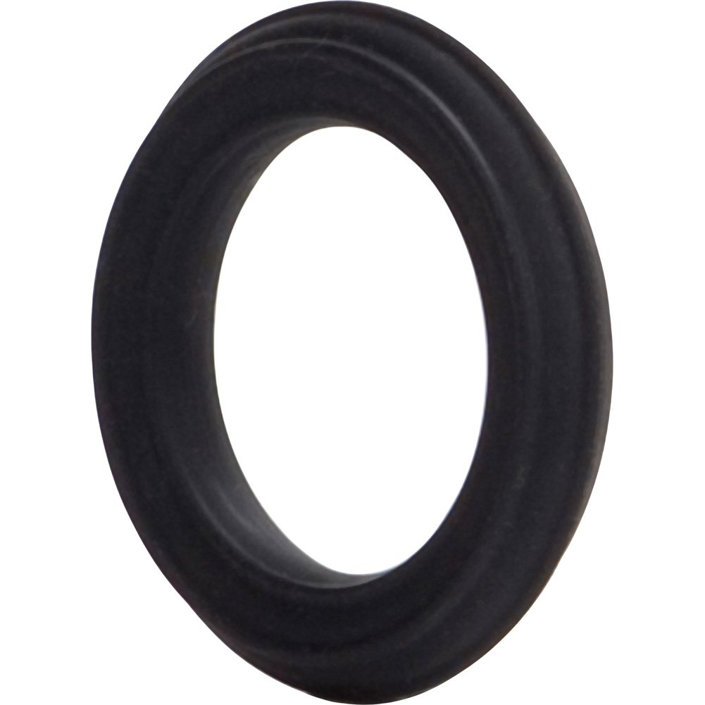 Adonis Silicone Ring Caesar Black - View #3