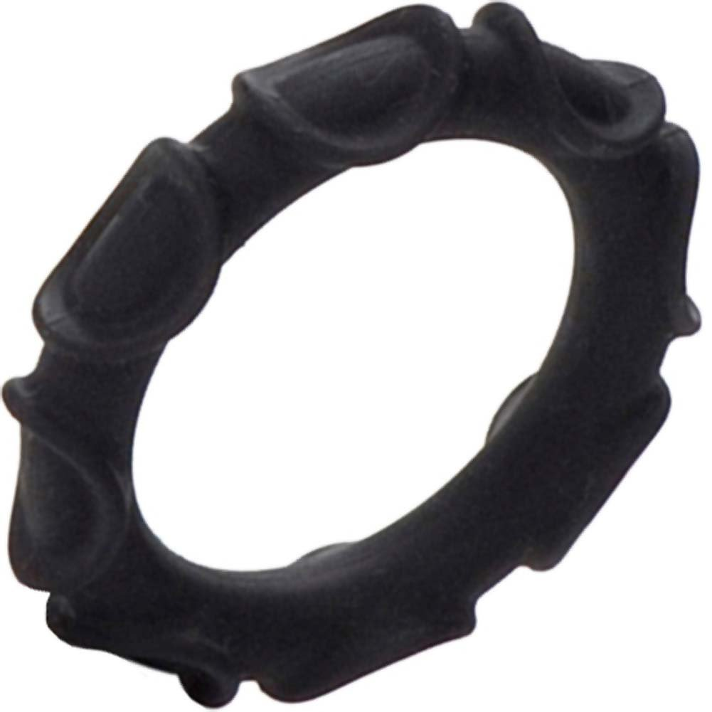 Adonis Silicone Ring Atlas Black - View #3