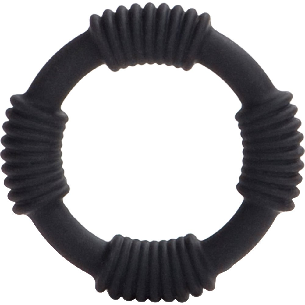 Adonis Silicone Ring Hercules Black - View #2