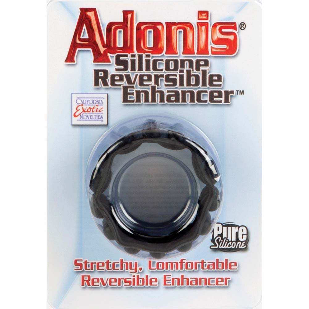 Adonis Silicone Reversible Enhancer Black - View #1