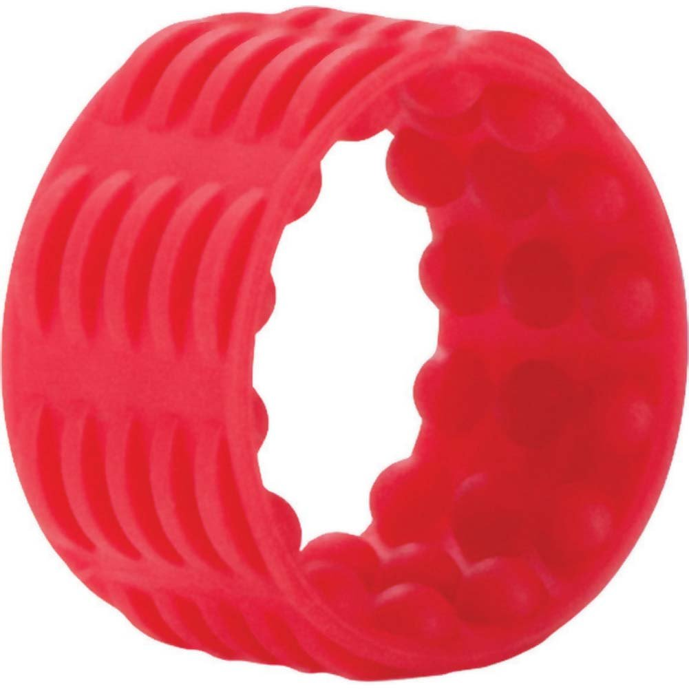 Adonis Silicone Reversible Enhancer Red - View #2