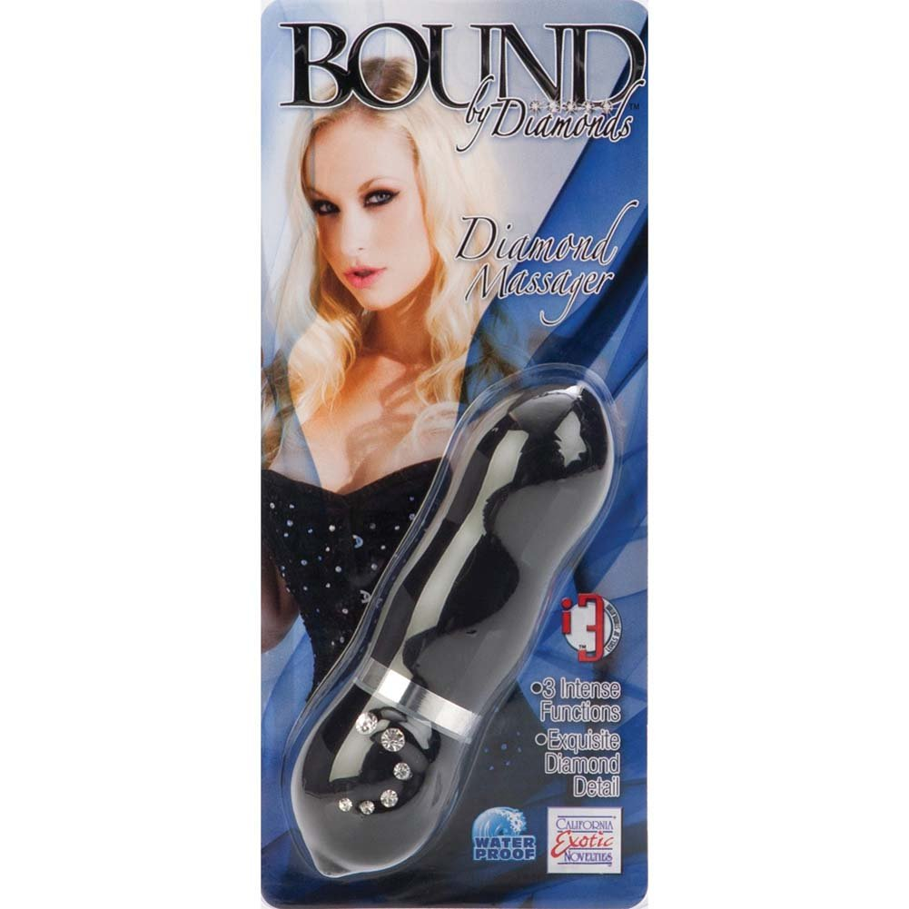 Bound By Diamonds Vibrating Diamond Massager Black - View #4