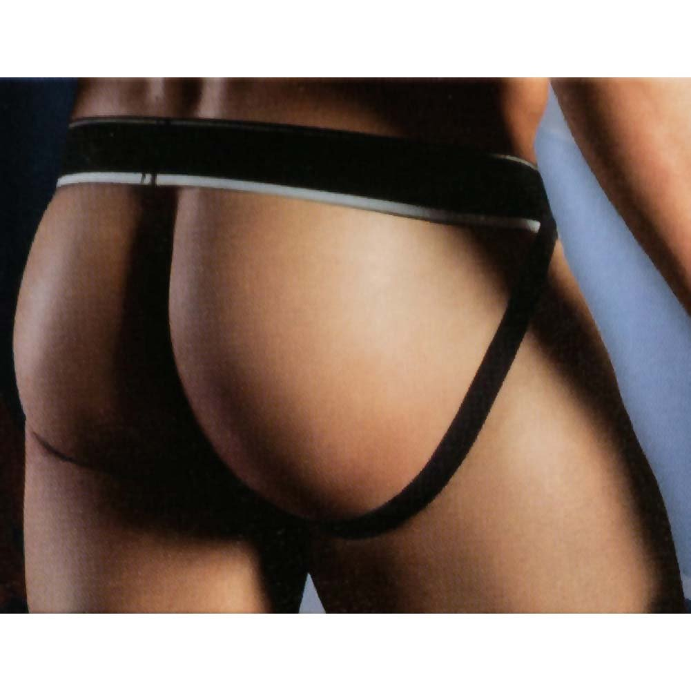 California Exotics Apollo Mesh Jock with C-Ring Black Large/Extra Large.Size - View #2