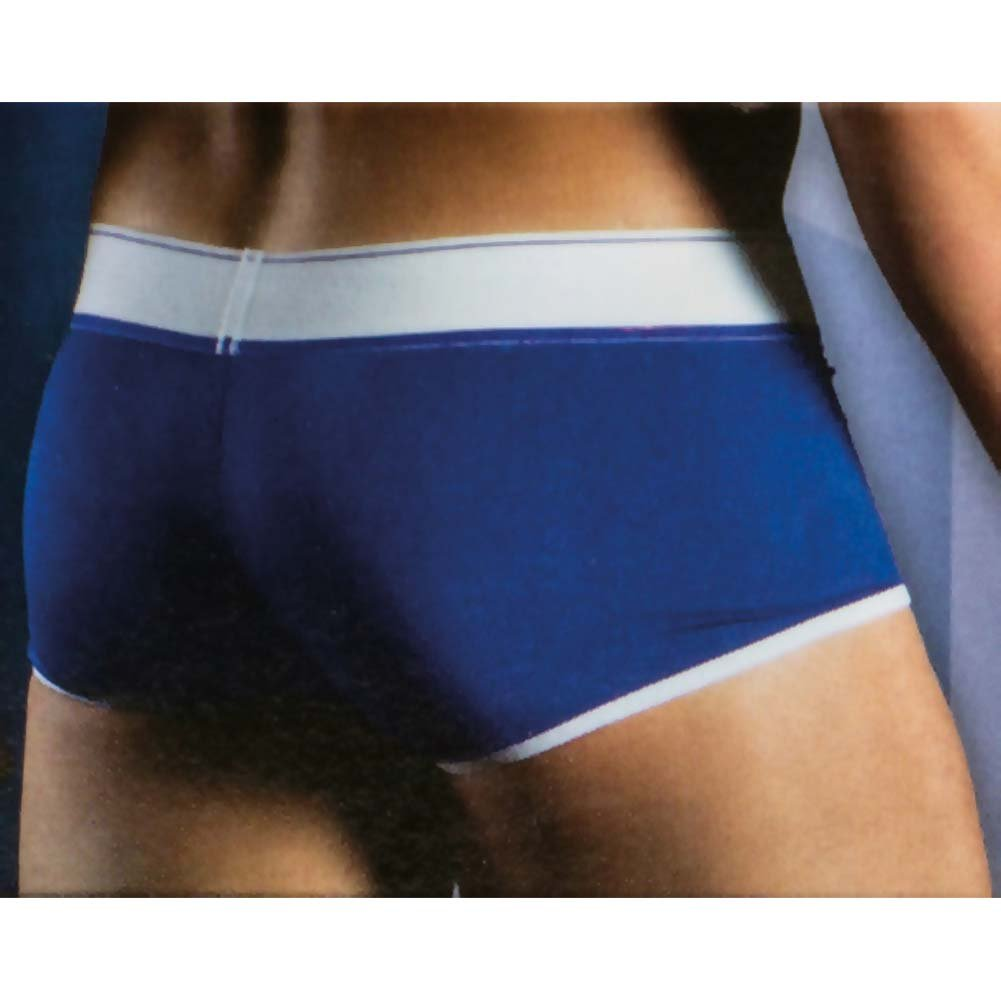 Apollo Boxer with C-Ring Blue Medium/Large Size - View #2