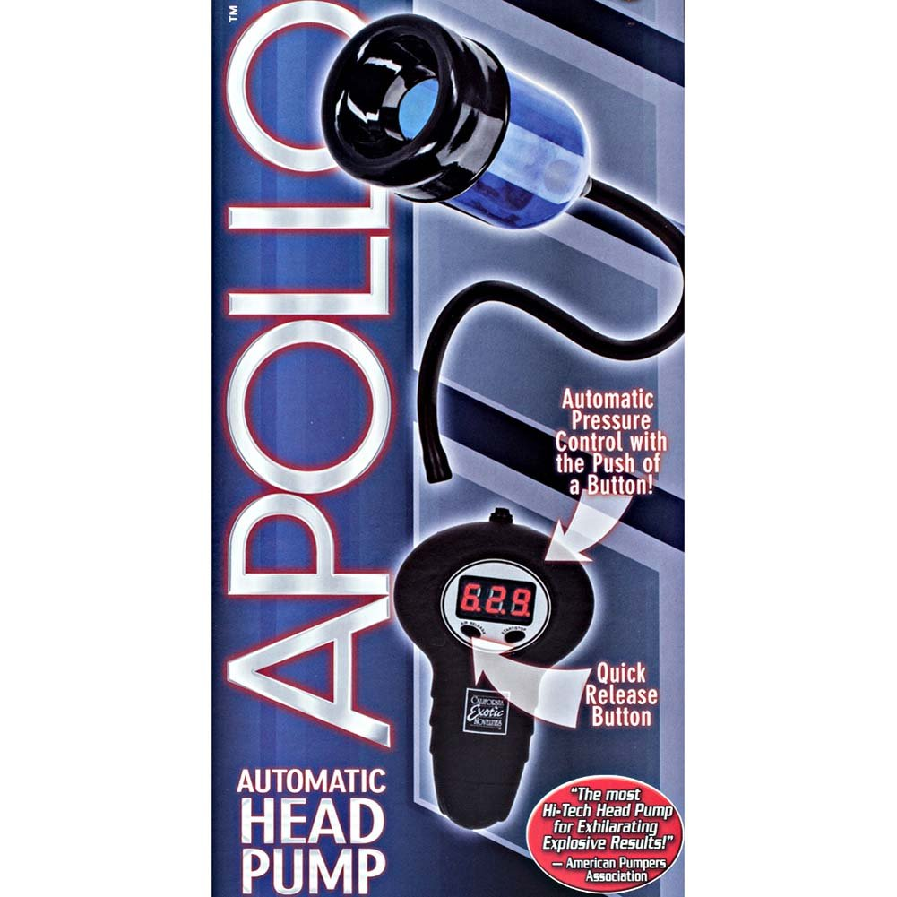 Apollo Automatic Head Pump Blue - View #1