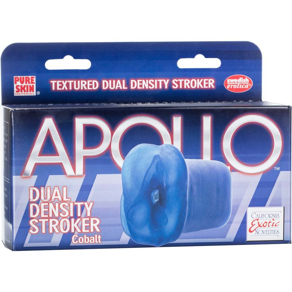 Apollo Dual Density Stroker Blue - View #4