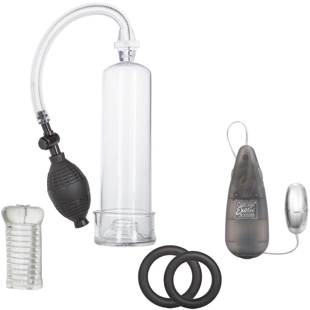 Apollo Sta-Hard Pump Pleasure Kit for Men Grey - View #2