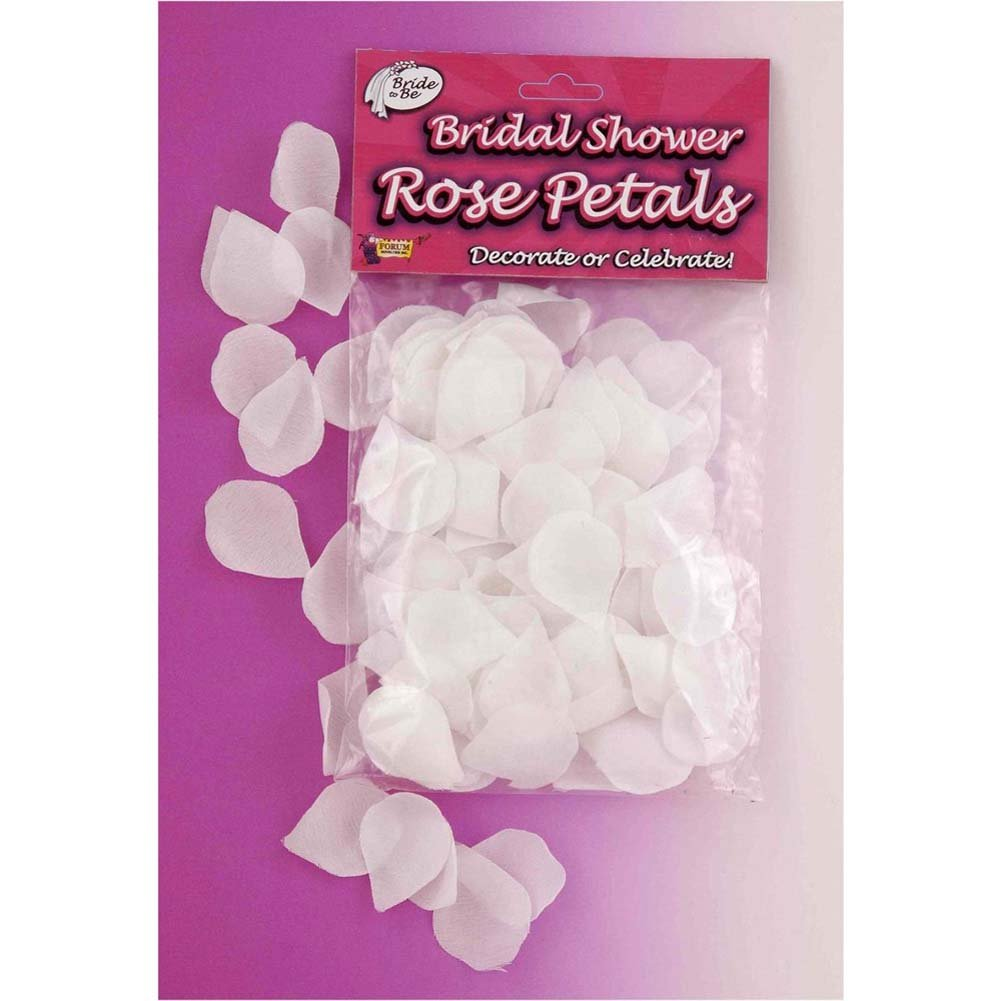 Bridal Showers Wedding Rose Petals 288 Pieces White - View #1