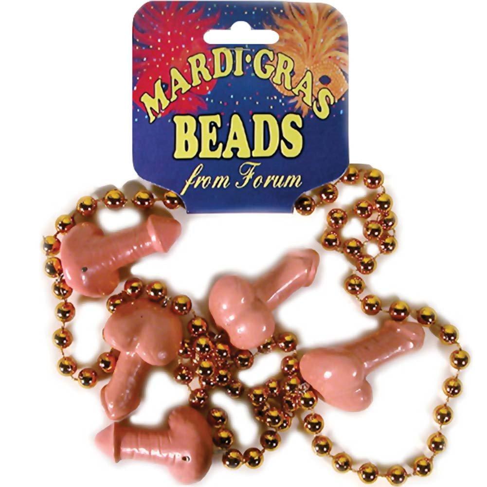 Mardi Gras Penis Beads - View #1