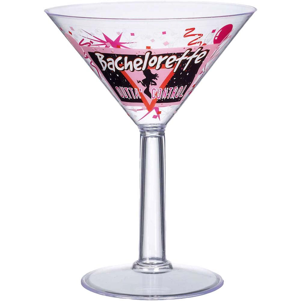 Bachelorette Party Jumbo Martini Glass - View #1