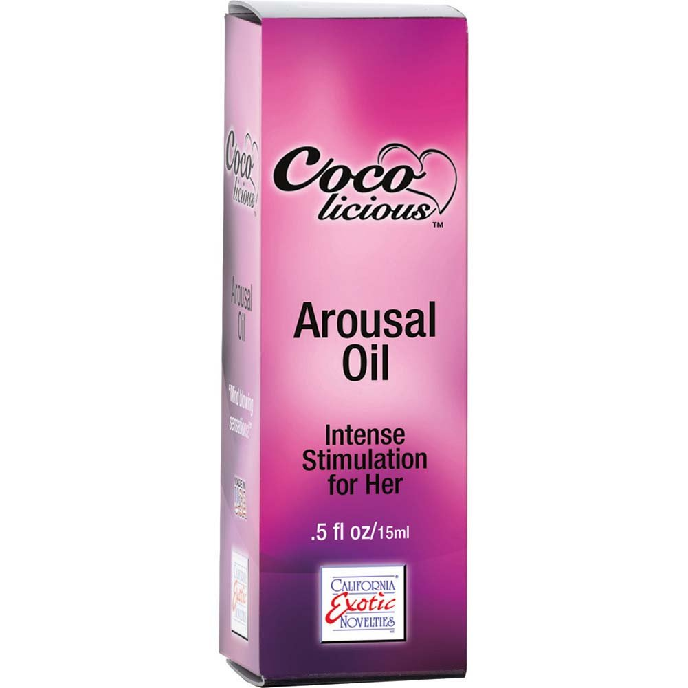 Coco Licious Arousal Oil 0.5 Fl. Oz Boxed - View #2