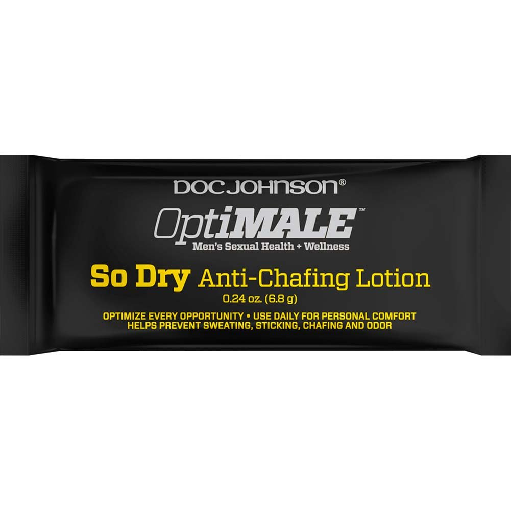 OptiMALE So Dry Anti-Chafing Lotion 0.24 Oz. Pouch - View #1