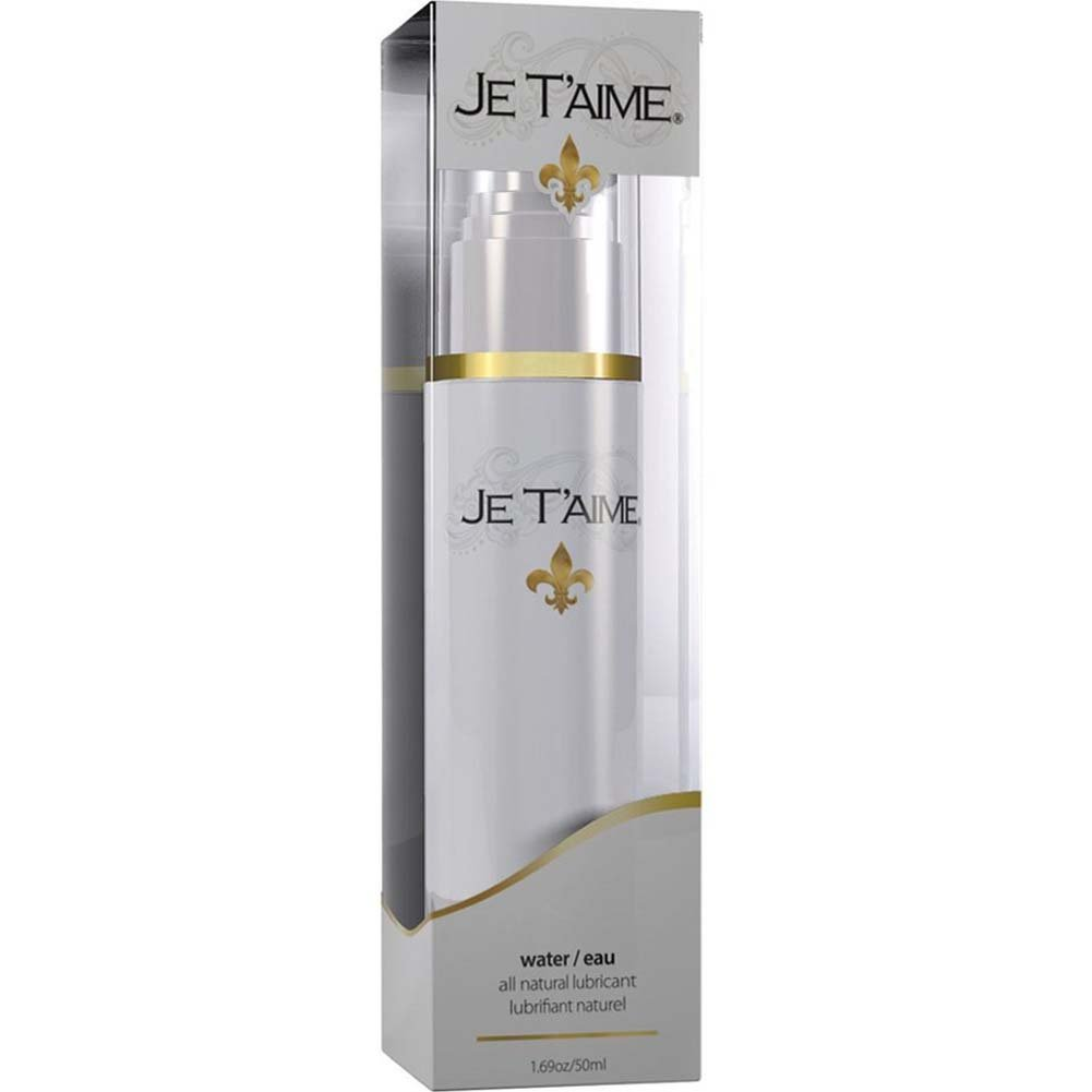 Je TAime All Natural Water-Based Lubricant 1.69 Oz. - View #1