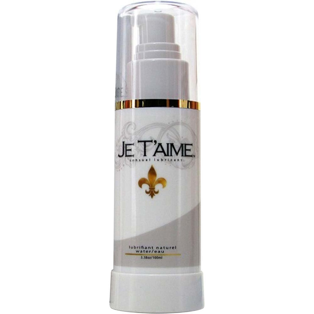 Je TAime All Natural Water-Based Lubricant 3.38 Oz. - View #2