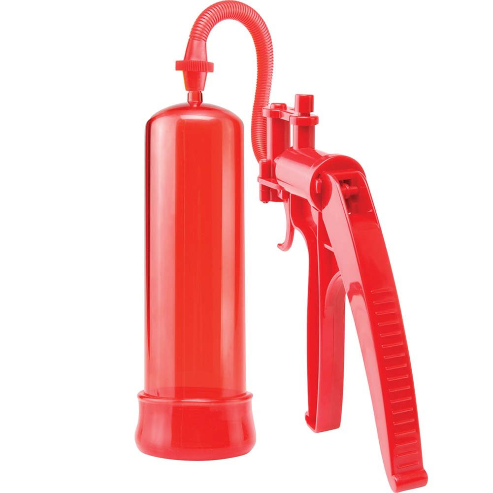 Pump Worx Deluxe Fire Power Pump Red - View #2