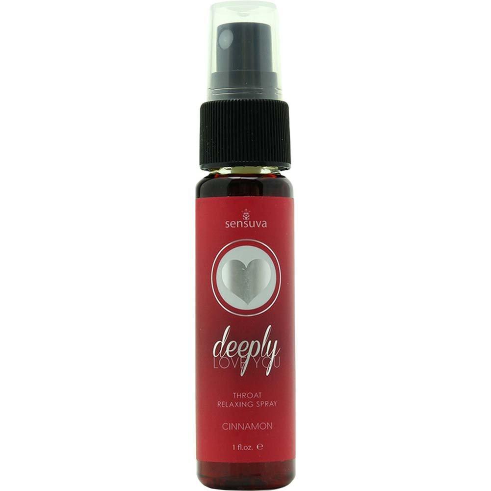 Sensuva Deeply Love You Throat Relaxing Spray 1 Fl.Oz 30 mL Cinnamon - View #1