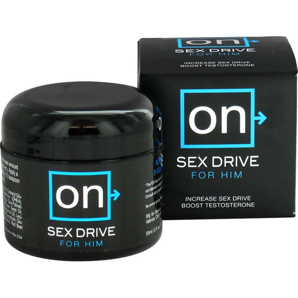 Sensuva On Sex Drive For Him Testosterone Booster 2 Fl Oz. 12 Pieces Refill - View #1