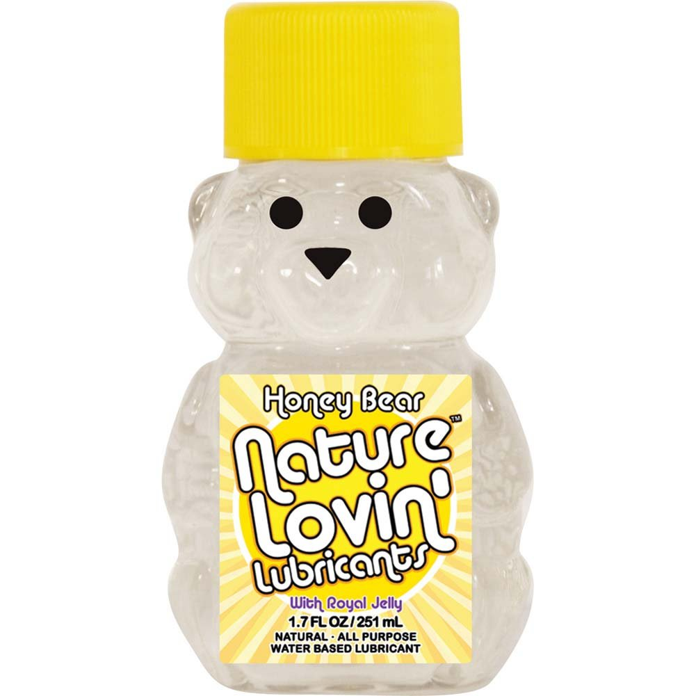 Nature Lovin Lubricants Honey Bear Lube with Royal Jelly 1.7 Fl. Oz. - View #1