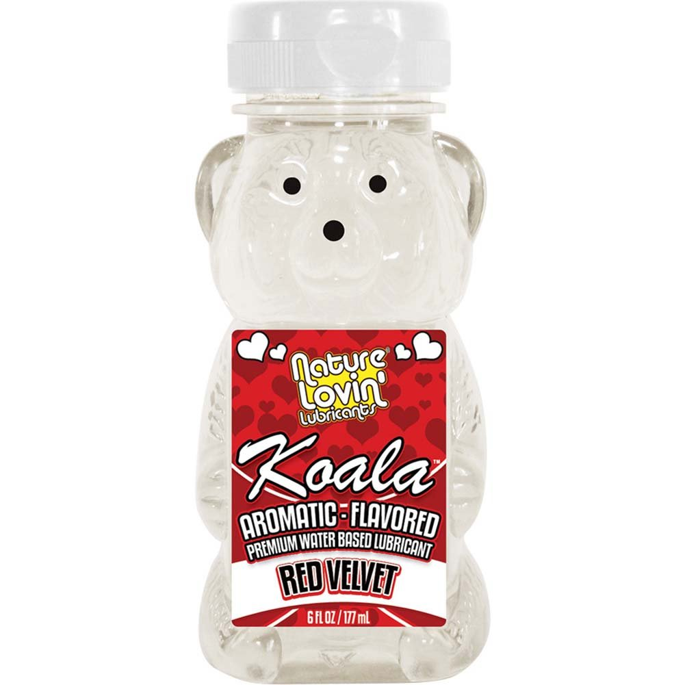 Nature Lovin Lubricants Koala Red Velvet Flavored Lube 6 Fl. Oz. - View #1