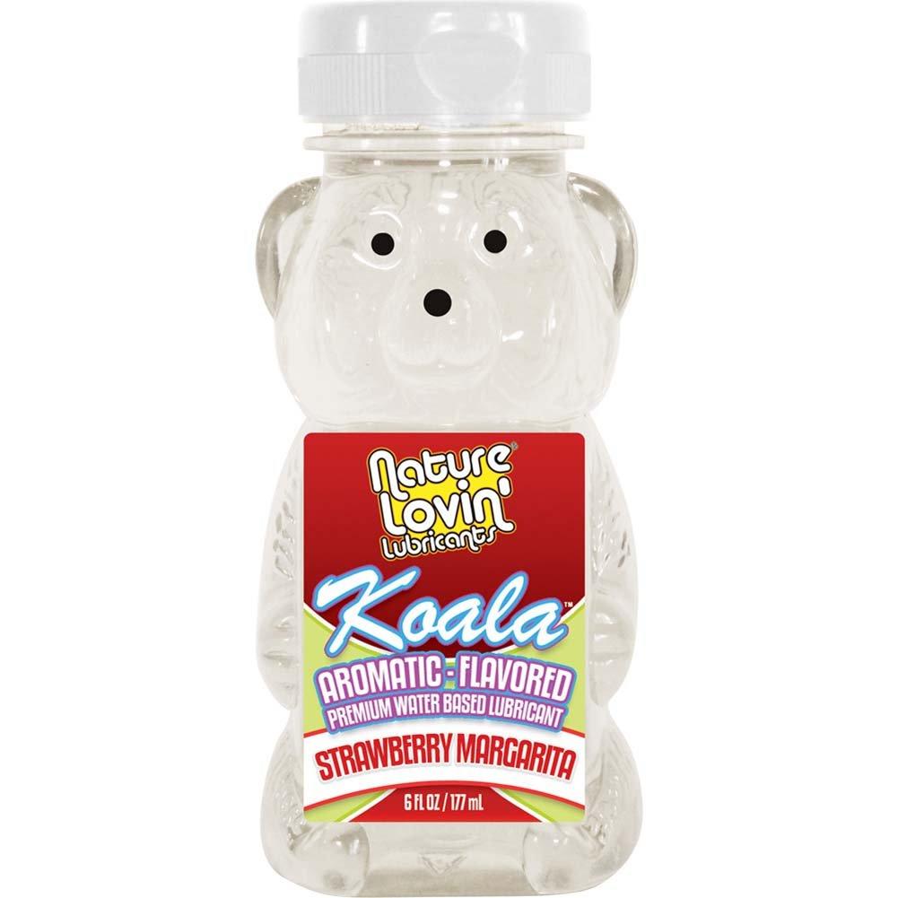 Nature Lovin Lubricants Koala Strawberry Margarita Flavored Lube 6 Fl. Oz. - View #1