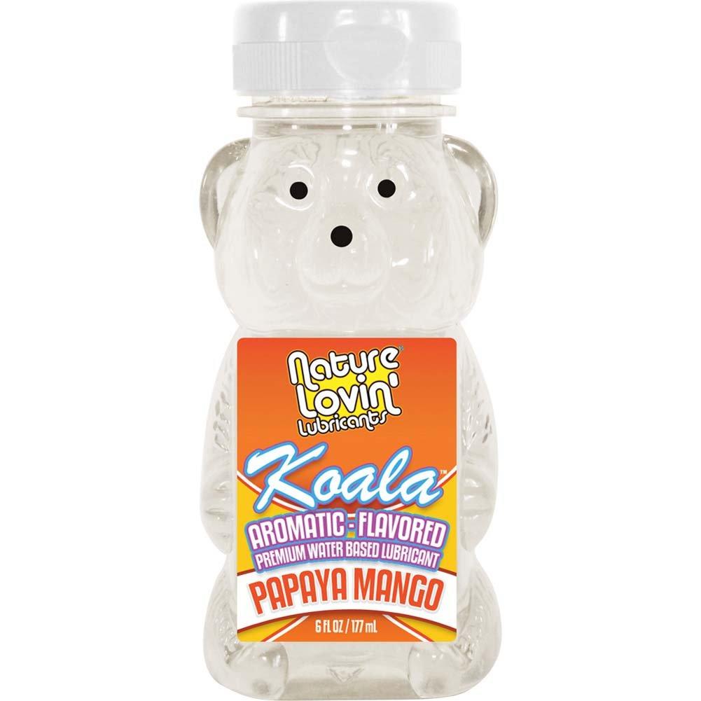 Nature Lovin Lubricants Koala Papaya Mango Flavored Lube 6 Fl. Oz. - View #1