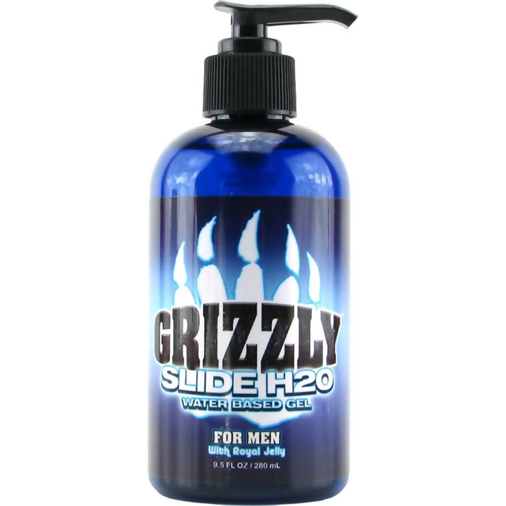 Nature Lovin Lubricants Grizzly Slide H2O Water Based Gel for Men 9.5 Fl. Oz. - View #1