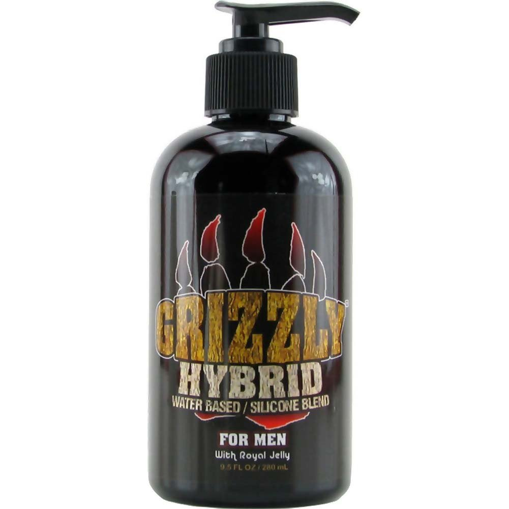Nature Lovin Lubricants Grizzly Hybrid Lube for Men 9.5 Fl. Oz. - View #1
