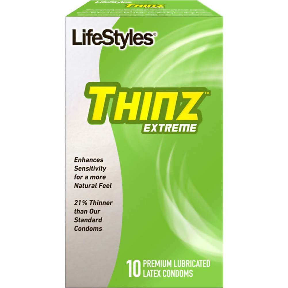 LifeStyles Thinz Extreme Lubricated Condoms 10 Pack - View #1