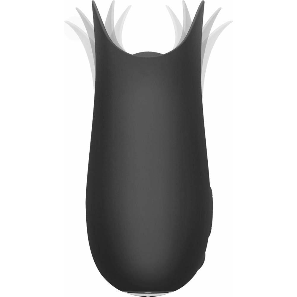 "Jimmyjane Form 5 USB Rechargeable Vibrator 4"" Slate - View #3"