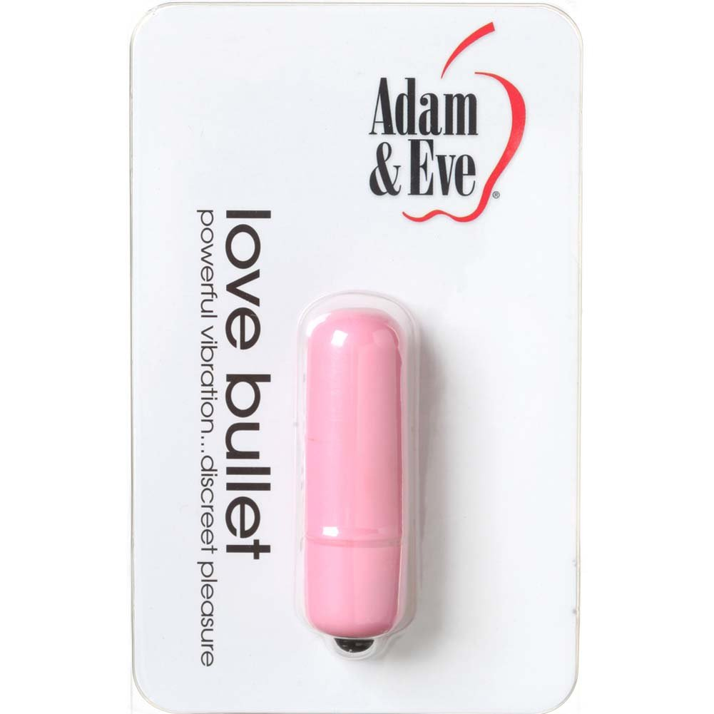 "Adam and Eve Love Bullet 2.25"" Pink - View #1"