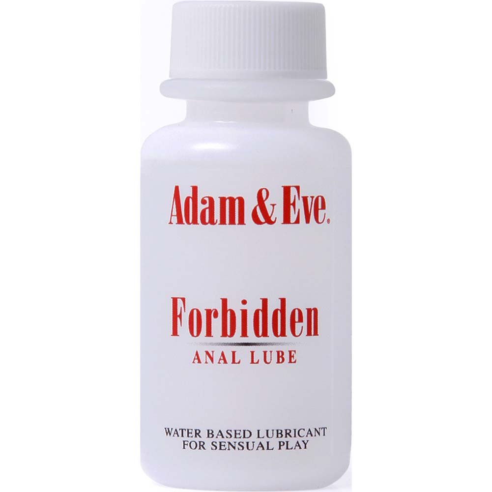 Adam and Eve Forbidden Anal Lube 1 Fl. Oz. - View #1