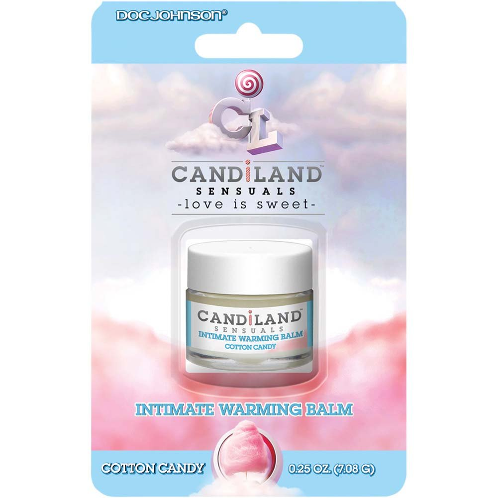 CANDiLAND SENSUALS Intimate Warming Balm Cotton Candy 0.25 Oz. - View #1