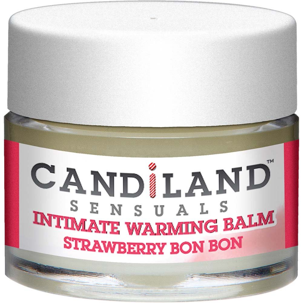 CANDiLAND SENSUALS Intimate Warming Balm Strawberry Bon Bon 0.25 Oz. - View #2