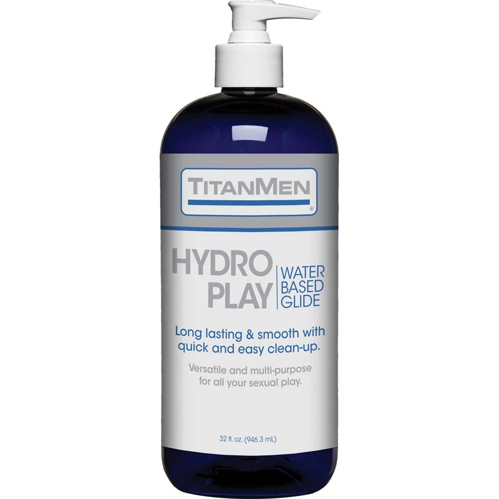 TitanMen Hydro Play Water Based Glide 32 Fl. Oz. - View #1