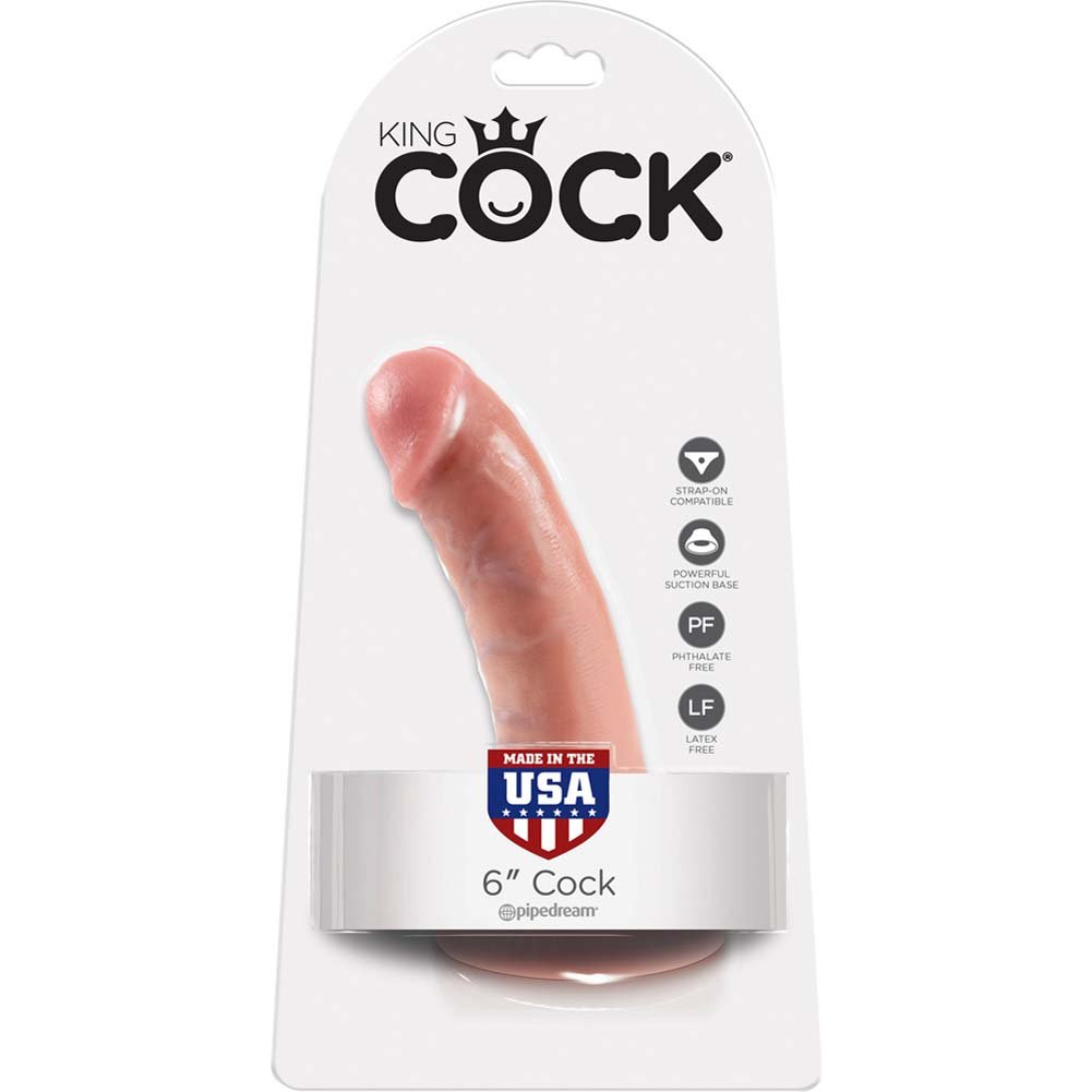 "King Cock 6"" Cock Flesh - View #1"