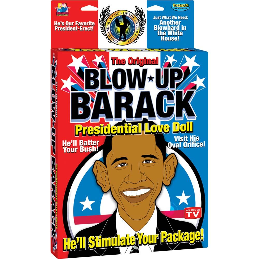 Blow Up Barack Presidential Love Doll - View #1