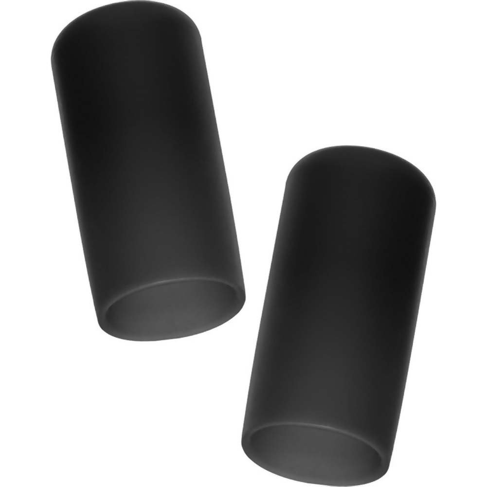 """California Exotics Nipple Suckers For Him And Her 2.25"""" Black - View #2"""