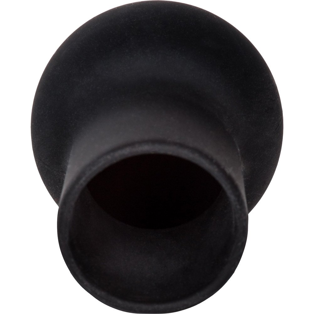 "California Exotics Nipple Play Silicone Advanced Nipple Suckers 2.25"" Black - View #4"