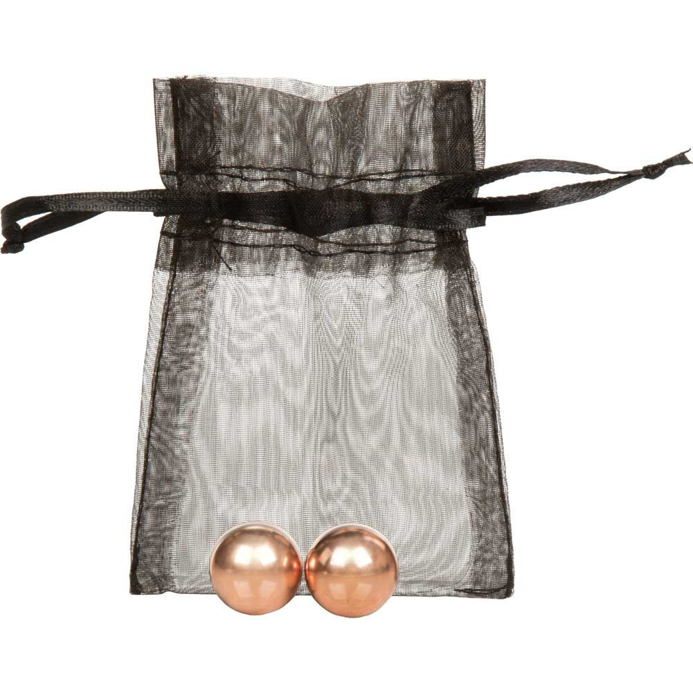California Exotics Entice Weighted Kegel Balls Rose Gold - View #2