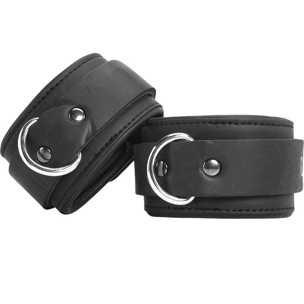 Master Series Serve Neoprene Buckle Cuffs Black - View #2