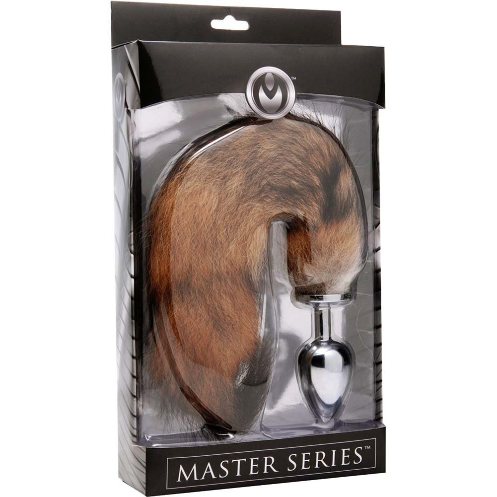 "Master Series Untamed Xl Fox Tail Anal Plug 12"" - View #1"