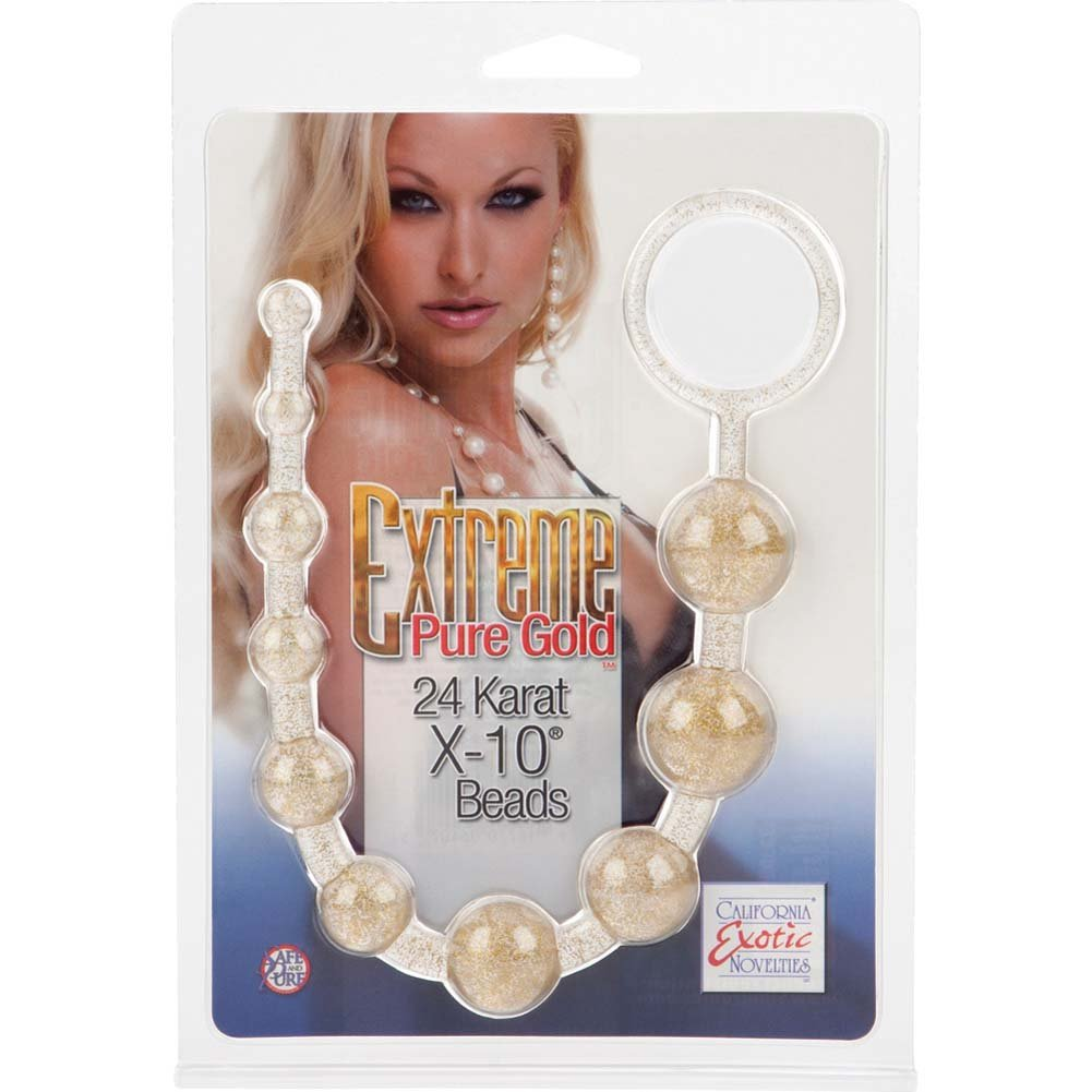 Extreme Pure Gold X10 Beads Gold - View #4